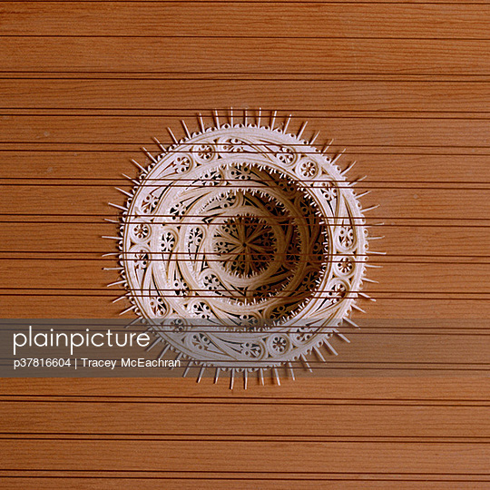 Harpsichord parchment tiered rose - p37816604 by Tracey McEachran