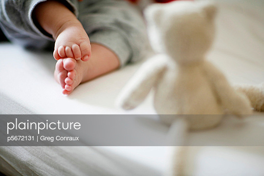 Babyfüße - p5672131 von Greg Conraux