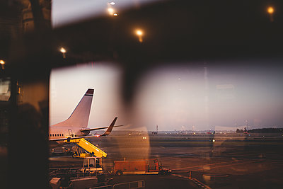 Airport at morning - p312m1471648 by Depiction AB