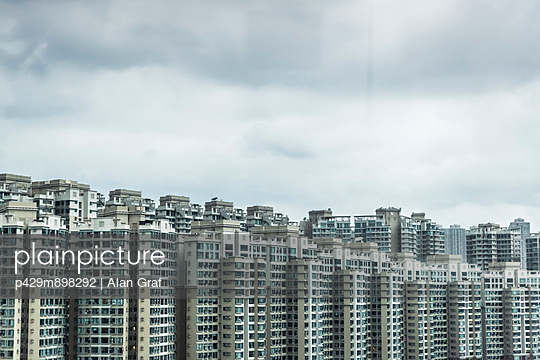 Abundance of apartment blocks - p429m898292 by Alan Graf