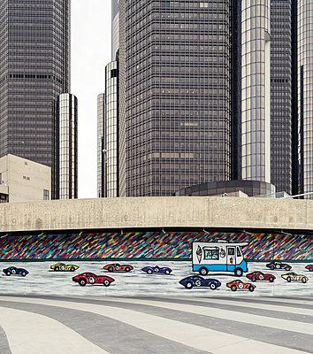 highway graffiti - p1542m2175040 by Roger Grasas