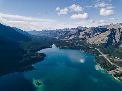 Bergsee in Kanada - p1455m2185532 von Ingmar Wein