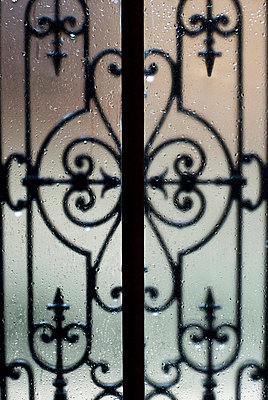Wrought iron work - p8700057 by Gilles Rigoulet