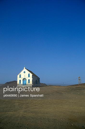 Church Petra Lume Sal Cape Verde