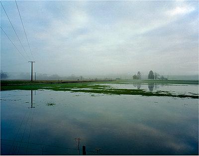 Überschwemmtes Ackerland - p1118m1553112 von Tarik Yaici