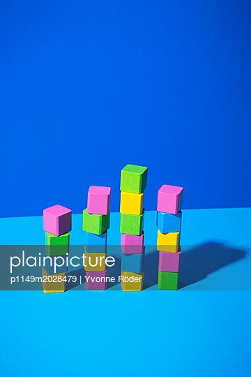 Toy blocks - p1149m2028479 by Yvonne Röder