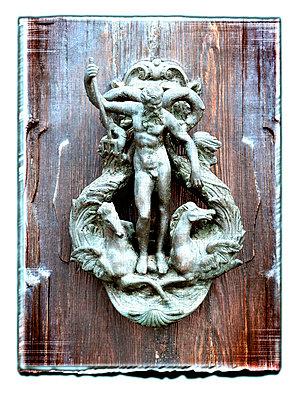 Türknauf in Venedig - p4510730 von Anja Weber-Decker