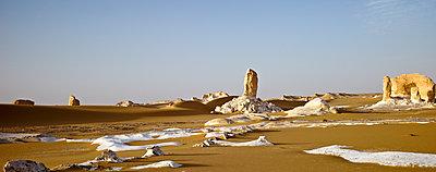 Felsformation in der Weißen Wüste - p1353m1201761 von Federico Naef