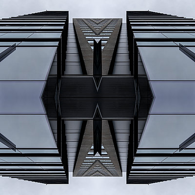 Abstract Architecture Kaleidoscope Boston - p401m2216016 by Frank Baquet