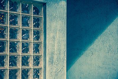 Glass brick windows - p397m887533 by Peter Glass