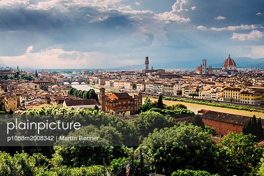 Stadtansicht von Florenz - p1088m2008342 von Martin Benner