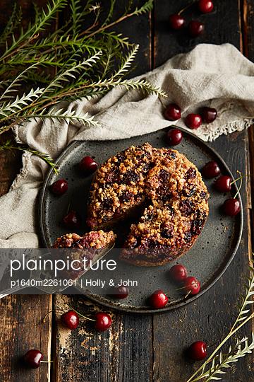 Cherry cake - p1640m2261061 by Holly & John