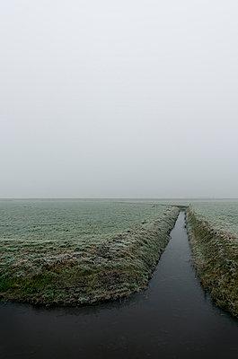 Winter in Friesland - p1132m973435 von Mischa Keijser