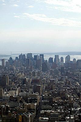 Aerial view of Manhattan - p3882057 by L.B.Jeffries