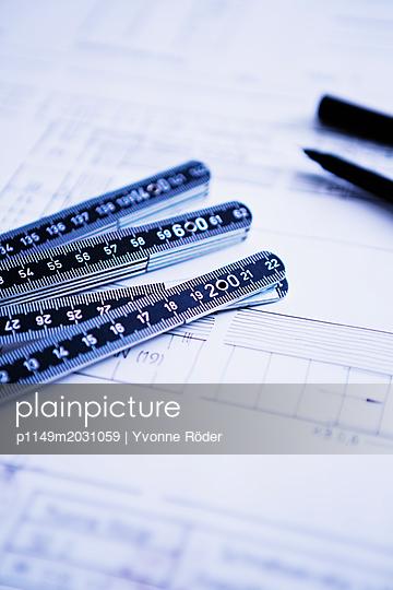 Bauplan - p1149m2031059 von Yvonne Röder