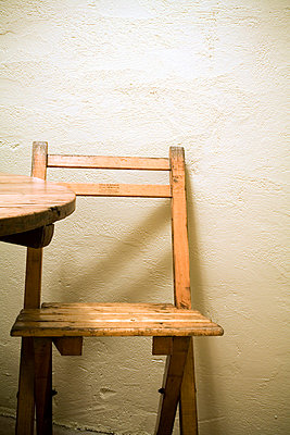 Wood Folding Chair - p5550564f by LOOK Photography