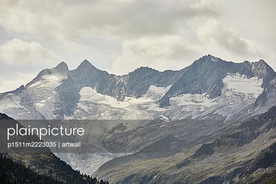 Glacier in the Alps - p1511m2223035 by artwall