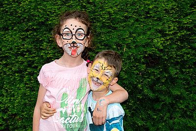 Geschminkte Kinder - p451m1451973 von Anja Weber-Decker