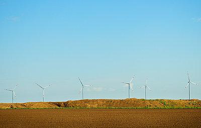 Tagebau und Windkraft - p1132m1039973 von Mischa Keijser