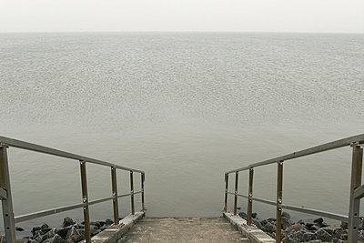 Stairway to water - p1650322 by Andrea Schoenrock