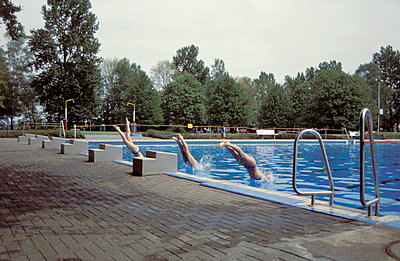 Diving board - p2470022 by Tina Paschetag