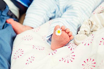 Babyfuß - p904m1159677 von Stefanie Päffgen