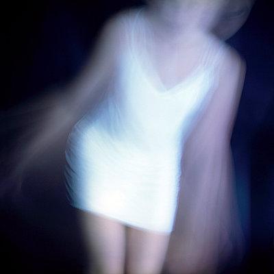 Woman in underwear - p4060433 by clack