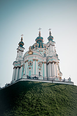 St.-Andreas-Kirche in Kiew - p795m1589230 von Janklein