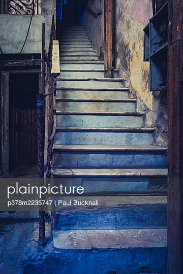 Old interior staircase - p378m2235747 by Paul Bucknall