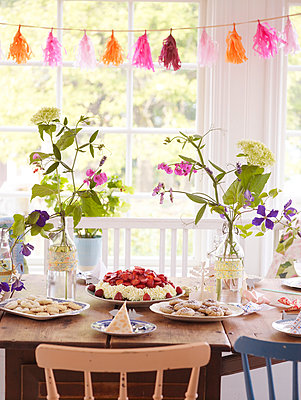 Table set for party - p312m1024836f by Wenblad-Nuhma