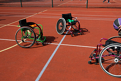 Sport wheelchairs - p445m881768 by Marie Docher