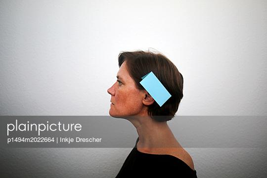 hinters Ohr schreiben - p1494m2022664 von Inkje Drescher