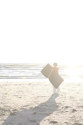 Abends am Strand - p4540442 von Lubitz + Dorner