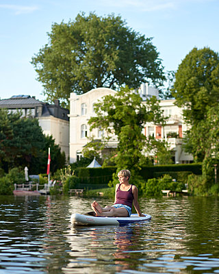Outer Alster Lake - p1124m1055769 by Willing-Holtz