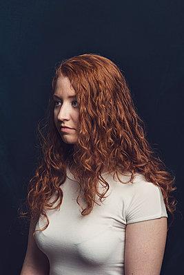 Redhead - p1323m1511768 von Sarah Toure