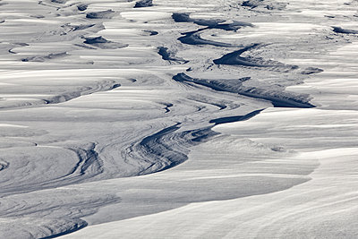 Snowdrifts - p1383m2020743 by Wolfgang Steiner