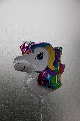 Rainy Unicorn - p1514m2133279 by geraldinehaas