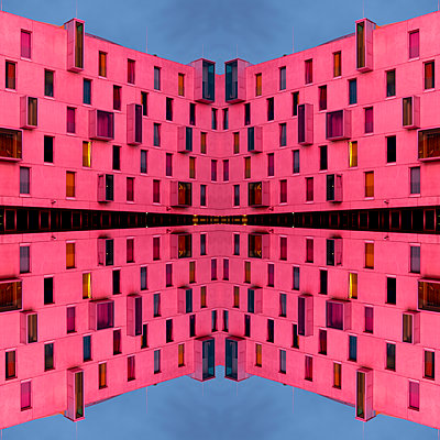 Abstract Architecture Kaleidoscope Cologne - p401m2219844 by Frank Baquet