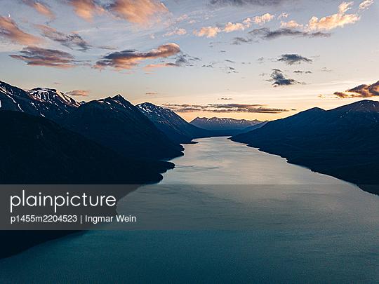 Alaska, Fjord bei Sonnenuntergang  - p1455m2204523 von Ingmar Wein