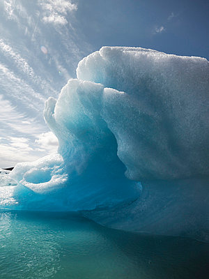Cave in iceberg - p31224834f by Vince Reichardt