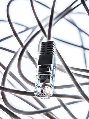Netzwerkkabel - p401m2013552 von Frank Baquet