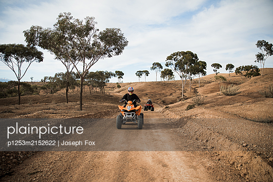 Desert Quadbiking - p1253m2152622 by Joseph Fox