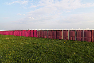 Many portable toilets - p7950071 by Janklein