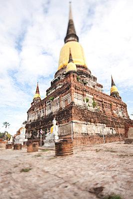 Ayutthaya Tempel - p7980184 von Florian Löbermann
