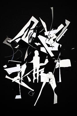Ausgeschnittene Silhouette - p1116m1217111 von Ilka Kramer
