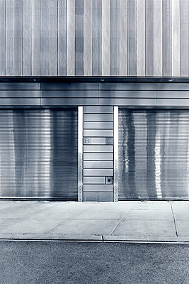 Roll-up door - p1280m1094247 by Dave Wall