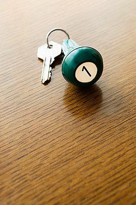 Schlüssel für Hotelzimmer - p1149m1119809 von Yvonne Röder