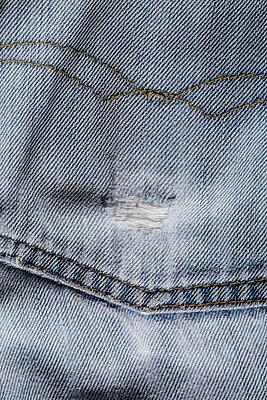 Worn trouser pocket - p1682m2260743 by Régine Heintz
