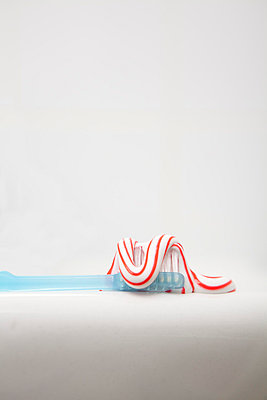 Toothpaste and toothbrush - p4540620 by Lubitz + Dorner