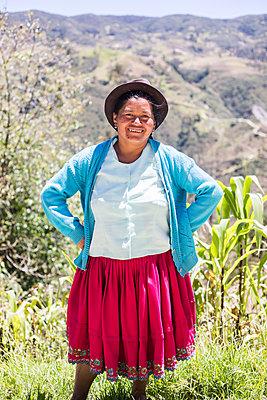Woman in Ecuador - p940m1480769 by Bénédite Topuz